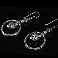 Earrings in Silver - Design XV