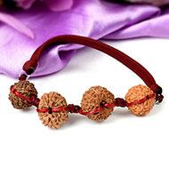 Wealth Bracelet-J in thread