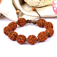 5 mukhi Guru bracelet in thread - 15 mm
