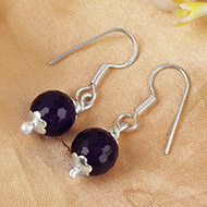 Amethyst Earring Set - XXIX