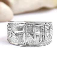 Om Namaha Shivaya Ring - Design I