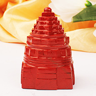 Shree Yantra in Jasper - 167 gms