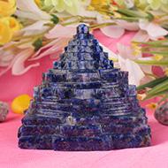 Lapis Lazuli Shree Yantra - 328 gms