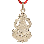 Lakshmiji in Pure Silver - Design I