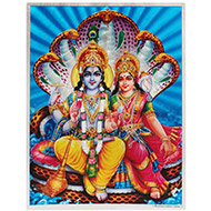 Vishnu Laxmi Photo - Large