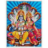 Vishnu Laxmi Photo - Large