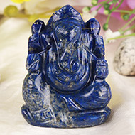 Lapis Lazuli Ganesha - 71 gms