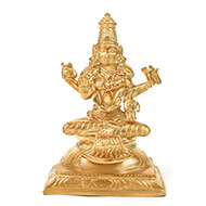 Goddess Bhairavi idol in Bronze