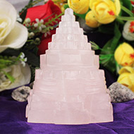 Rose Quartz Shree Yantra - 347 gms