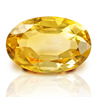 Yellow Citrine - 2.90 carats - Oval