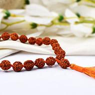Rudraksha sumarni mala - 10 mm