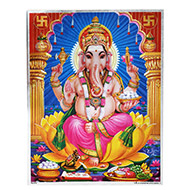 Lord Ganesh Photo - Large - Design I