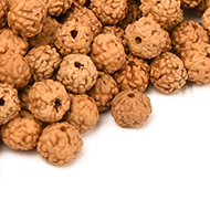 Rudraksha loose beads pack - 4mm