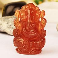 Gomed Ganesh - 90.70 Carats