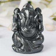 Hematite Ganesha - 172 gms