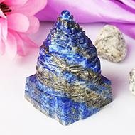 Lapis Lazuli Shree Yantra - 132 gms