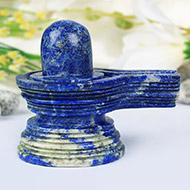 Lapis Lazuli Shivlingam - 182 gms