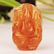 Gomed Ganesh - 19.70  Carats