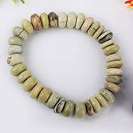 Cats Eye Bracelet - Elliptical Beads