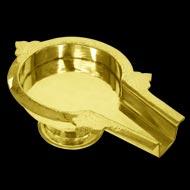 Brass Abhishek tray