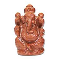 Sunstone Ganesha - 64 gms
