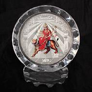 Durga Silver Frame