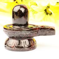 Gomed Hessonite Shivlinga - 188 gms
