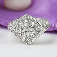 Hanuman Ring in Pure Silver - Design IV