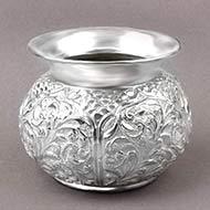 Designer Puja Kalash in German Silver