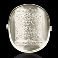 Shree Mahamrityunjaya Yantra Ring in Silver