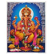 Lord Ganesh Photo - Large