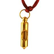 Brass locket with Gangaja