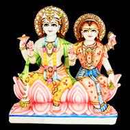 Vishnu Laxmi in Marble