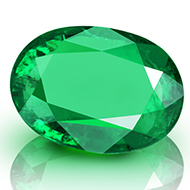 Emerald 3.60 carats Zambian