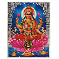 Goddess Mahalakshmi Photo - Large