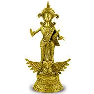 Mahalakshmi - Dhokra metal art