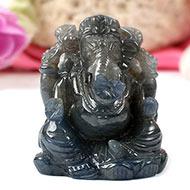Ganesha in Blue Sapphire - 460 Carat