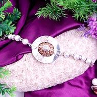 10 Mukhi Collector and Pearl Bracelet (Sacral)