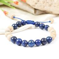 Lapis Lazuli and Tulsi Bracelets