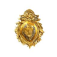 Lotus Brass Diya