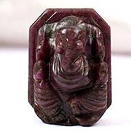 Ruby Ganesh - 29.85 carats