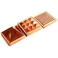 Pyramid in Copper