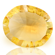 Yellow Citrine Superfine Cutting - 7.85 carats - Oval