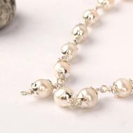 Pearl mala in silver