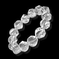 Crystal Bracelet - Faceted Beads - Design IV