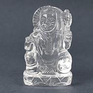 Sphatik Crystal Hanuman