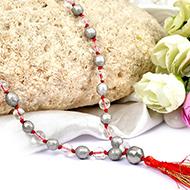 Pure Siddha Parad with Sphatik Mala