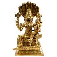 Narasimha Lakshmi in brass
