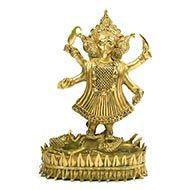 Maha Kaali - Dhokra metal art