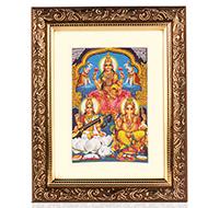 Ganesh Lakshmi Saraswati Frame